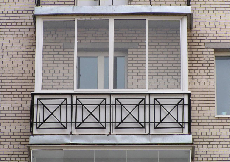 Отделка фасада балкона - наружная облицовка балкона.