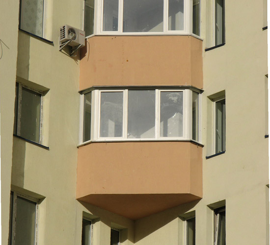Остекление балконов и лоджий. теплое остекление пвх rehau. х.